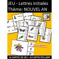 JEU - Lettres initiales Thème: NOUVEL AN
