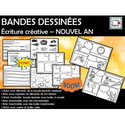 BANDES DESSINÉES Écriture créative – NOUVEL AN