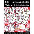 JEU - Lettres initiales Thème: Saint-Valentin