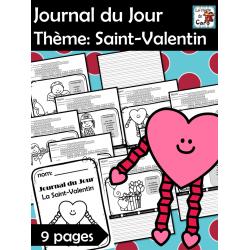 Journal du Jour Thème: Saint-Valentin