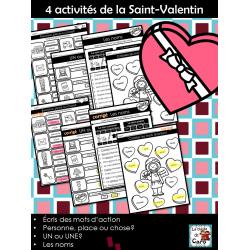 4 activités de la Saint-Valentin