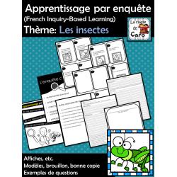 Apprentissage par enquête - Les insectes