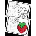 Compter jusqu'à 10 - Les fraises