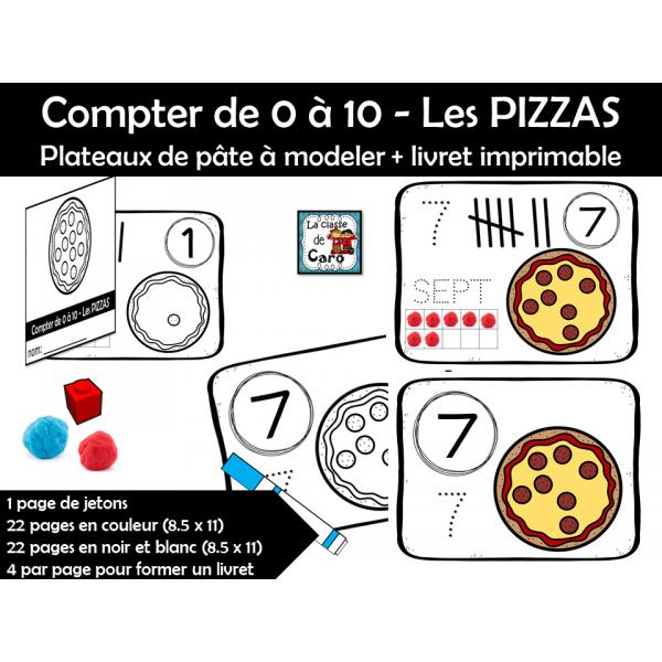 Compter jusqu'à 10 – La pizza