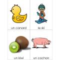 Choisis l'orthographe correcte  Le son C- K -QU