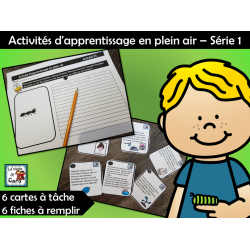 Activités d'apprentissage en plein air - Série 1