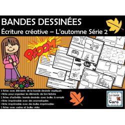 BANDES DESSINÉES  – L'automne Série 2