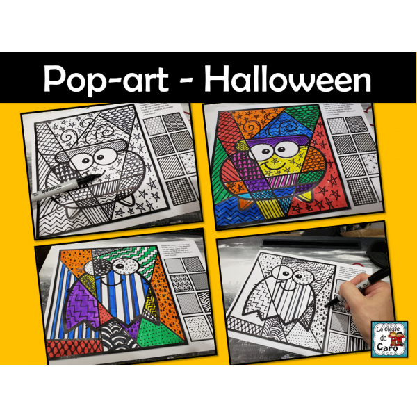 Pop-art - Halloween