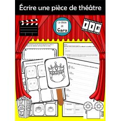 Écrire une pièce de théâtre