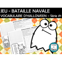 JEU - BATAILLE NAVALE - D'HALLOWEEN – Série #1