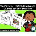 2 petits livres – Thème: l'Halloween