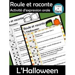 Roule et raconte - L'Halloween - Expression orale