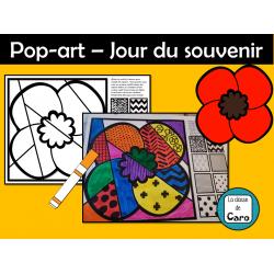 Pop-art – Jour du souvenir