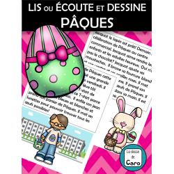 LIS ou ÉCOUTE et DESSINE - ¨PÂQUES