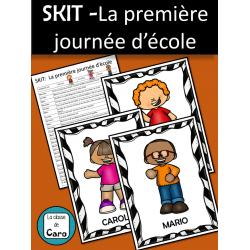SKIT -La première journée d'école