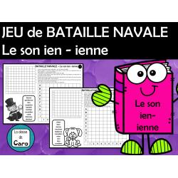 JEU de BATAILLE NAVALE Les sons ien - ienne