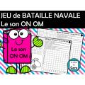 JEU de BATAILLE NAVALE Le son ON OM