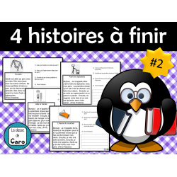 4 HISTOIRES courtes et simples à finir  #2