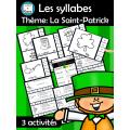 Les syllabes - Thème: La Saint-Patrick