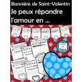 Bannière de Saint-Valentin