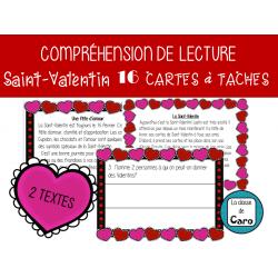 COMPRÉHENSION DE LECTURE - SAINT-VALENTIN