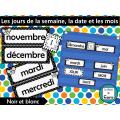 Les jours de la semaine, la date et les mois