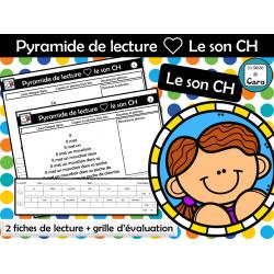 Pyramide de lecture ❤ Le son CH