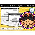 Pyramide de lecture ❤ Le son AU-EAU