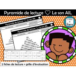 Pyramide de lecture ❤ Le son AIL