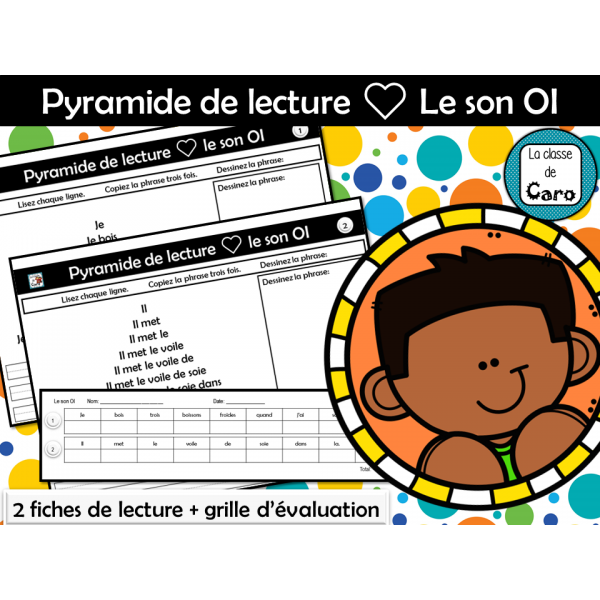 Pyramide de lecture ❤ Le son OI