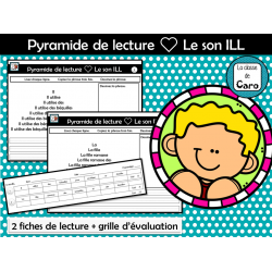 Pyramide de lecture ❤ Le son ILL
