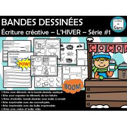 BANDES DESSINÉES – L'HIVER – Série #1