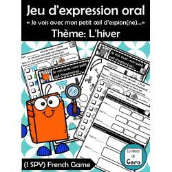 Jeu oral - Thème: L'hiver - French Game: I SPY
