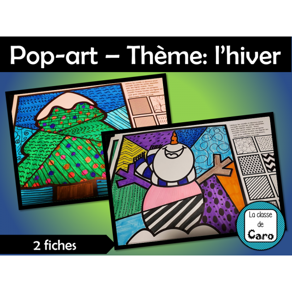 Pop-art – Thème: l'hiver