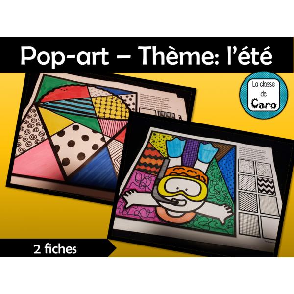 Pop-art – Thème: l'été
