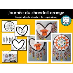 Projet d'arts - Journée du chandail orange
