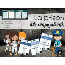 La prison des conjugaisons - 5e année