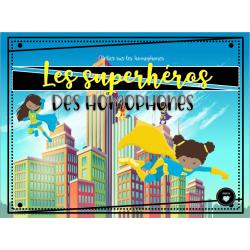 Les superhéros des homophones