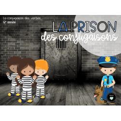 La prison des conjugaisons - 6e année