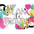 Affichage - thème tropical