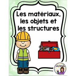 Les matériaux, les objets, et les structures