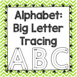 BILINGUAL Alphabet Big Letter Tracing