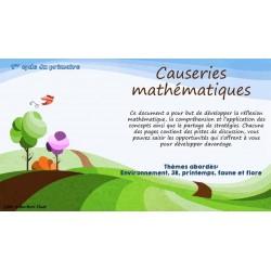 Causerie mathématique environnement