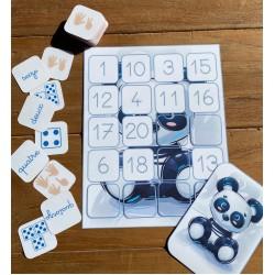 puzzle de 20 - panda