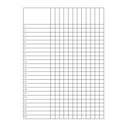 Listes de classe
