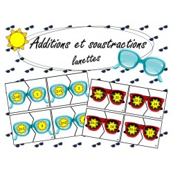 Additions et Soustractions Lunettes
