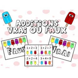 Vrai ou Faux Addition