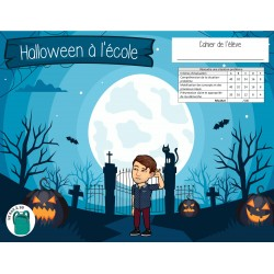 3e cycle - Halloween à l'école