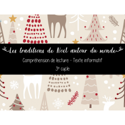Traditions de Noël - Compréhension de lecture