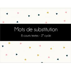 ADEL - Mots de substitution - Lecture